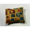 1 Pillow in Gold-Multi Pattern