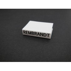 Rembrandt Art Book with White Cover
