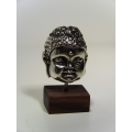 Small Buddha Head on Rosewood Base