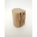 Carved Driftwood Stool