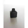 Black Square Vase