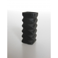 Black Square Tall Vase