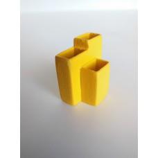 Yellow Trio Vases