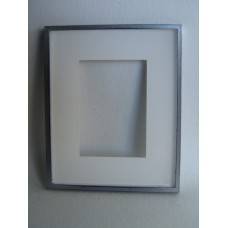 Picture Frame Blank - Large Silver