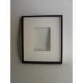 Picture Frame Blank - Medium Black