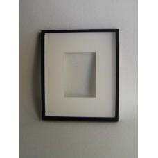 Picture Frame Blank - Medium Black