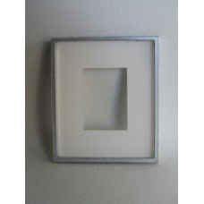 Picture Frame Blank - Medium Silver