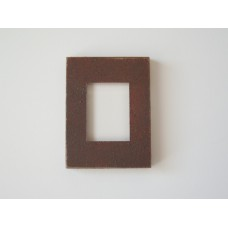 Picture Frame Blank - Small Rust