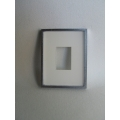 Picture Frame Blank - Small Silver