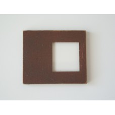 Picture Frame Blank - Offset Medium Rust
