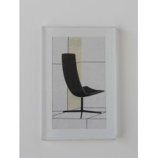 Frameless Modern Chair Print