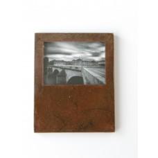 Rust Framed Bridge Print