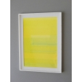 Abstract Yellow Poster Print