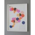 Abstract Circle Poster Print