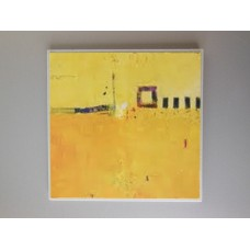 Yellow Abstract Print