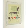 Eames Chair Print (Medium) White Frame