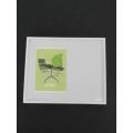 Eames Chair Print White Offset Frame