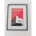 Le Corbusier Building Print Black Frame