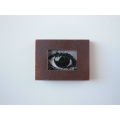 Eye Print Rust Frame