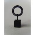 Dark Grey Small Ring