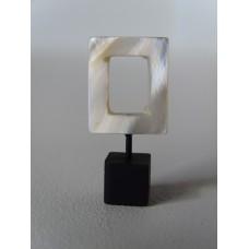 White Small Open Square