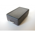 Rectangle Storage Box with Handle - Black Steel Finish
