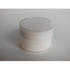 Round Storage Box - White