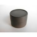 Round Storage Box - Black Steel