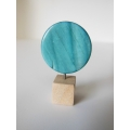 Round Stone Circle in Blue