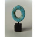 Turquoise Small Oblong Ring