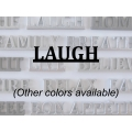 """Laugh"" Word Art"
