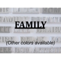 """Family"" Word Art"