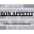 """Bon Appetit"" Word Art"