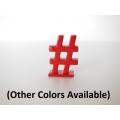 """""""#"""" Hashtag Symbol"""