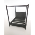 Danby Bed in Black Steel
