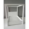 Devon Canopy Bed in White
