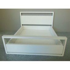 Dormi Bed High in White