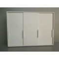 Canta Wardrobe Unit with 3 Sliding Doors in White
