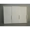Canta Wardrobe Unit with 3 Sliding Doors in White