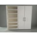 Dakota Wardrobe Unit with 2 Doors and Shelving in White