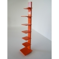 Tower Bookcase in Orange