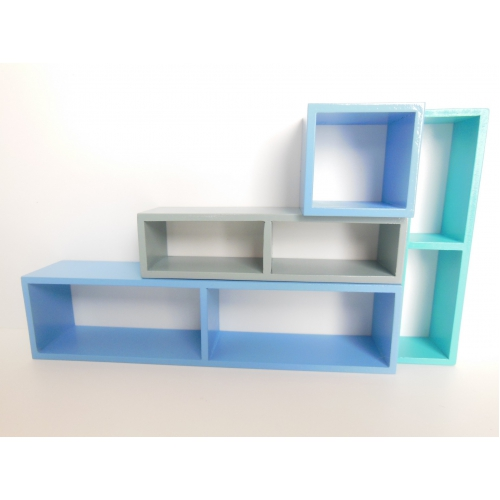Small Cubes And Limited P: Modern Dollhouse Furniture