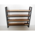 Fairfax 4 Tier Shelving Unit M.U.T.T./Black