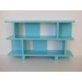 Vendi 2 Tier Bookcase in Blue