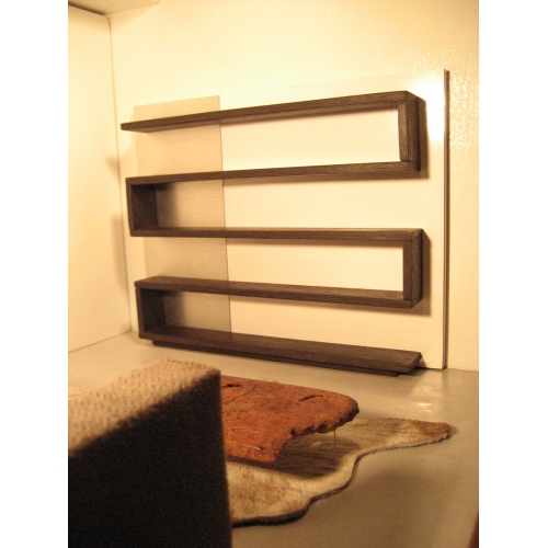 Modern Dollhouse Furniture M112 Pods Zig Zag Shelving