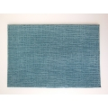 Blue Crosshatch Area Rug