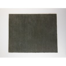 Charcoal Linear Area Rug