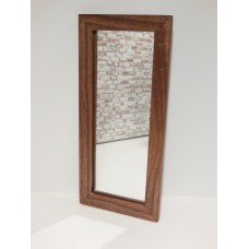 Walnut Framed Floor Mirror