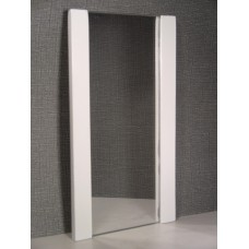 White Floor Mirror