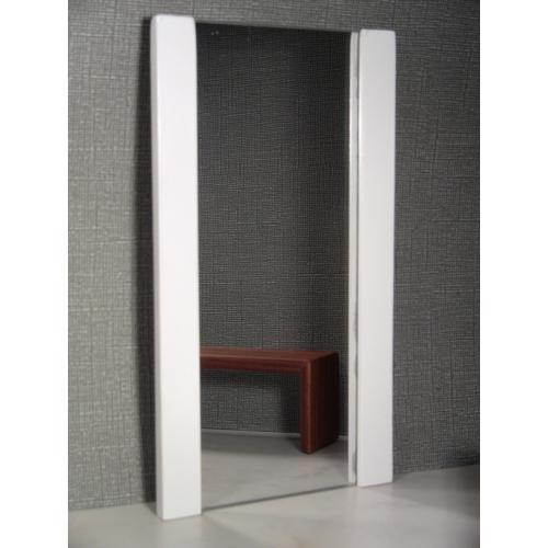Delightful White Floor Mirror
